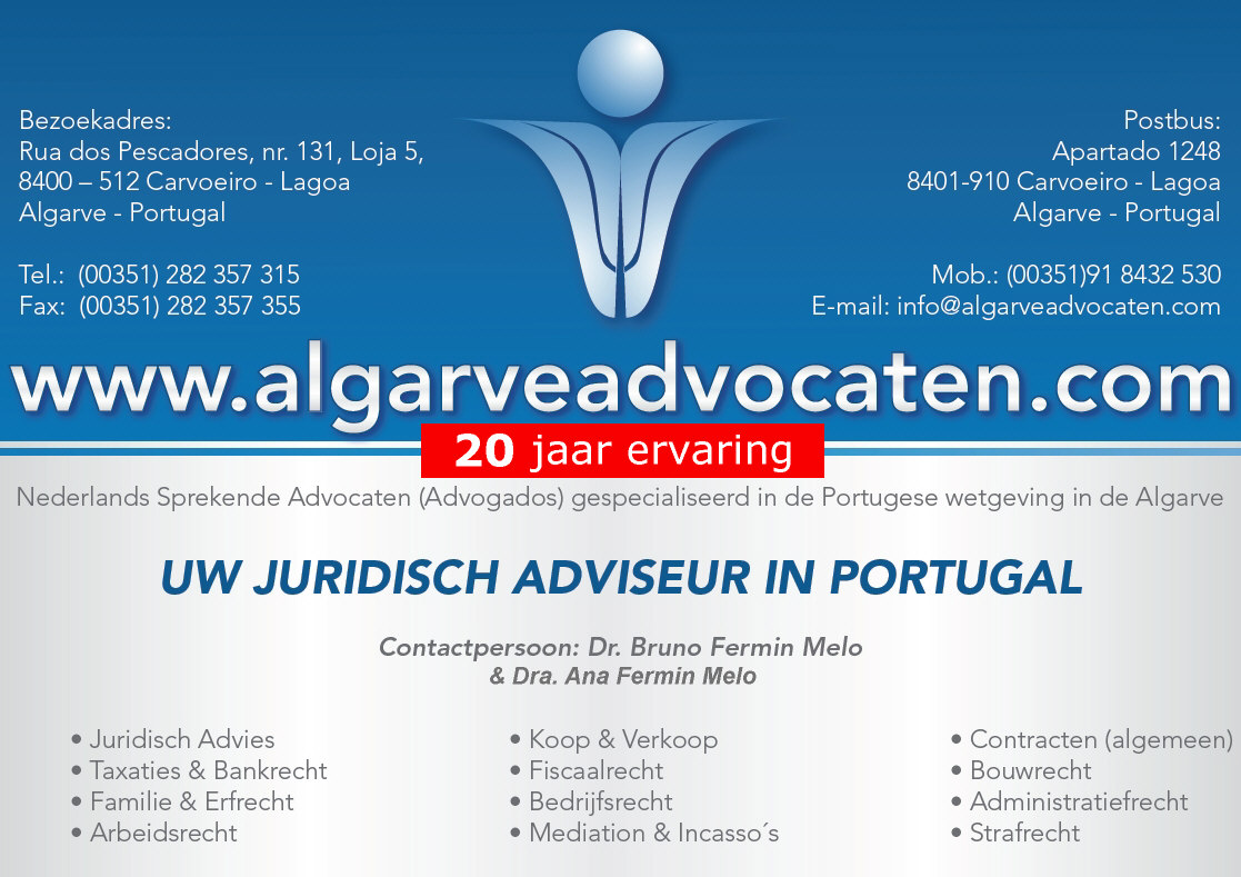 Algarve Advocaten Portugal Advogados Carvoeiro Lagoa Portimao Albufeira Faro Loule Silves Lagos